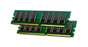 computer memory (RAM)